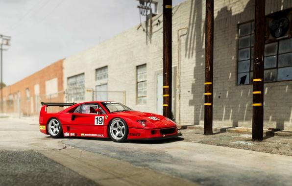 Картинка Ferrari, F40, феррари, Pininfarina, 1994, Michelotto