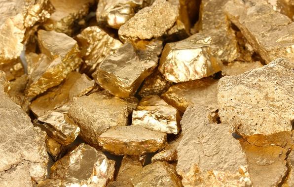 Картинка metal, mineral, gold pattern