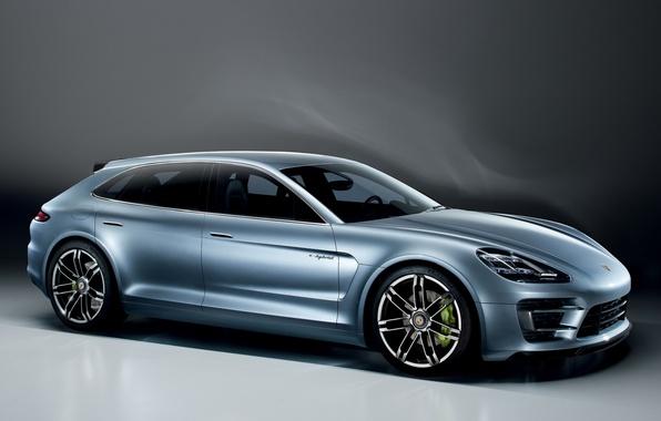 Картинка Concept, Porsche, Спорт, Концепт, Panamera, Turismo, Порше, Sport, Панамера, Туризмо