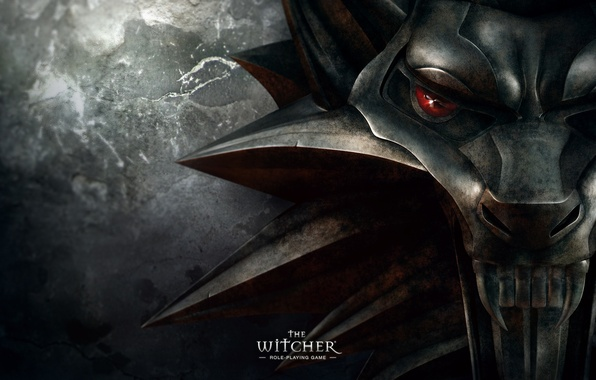 Картинка волк, медальон, the witcher, ведьмак