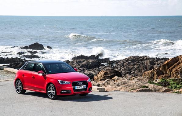 Картинка Audi, ауди, Sportback, TFSI, 2014, S line