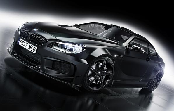 Картинка BMW, Car, Front, Black, Prior Design, Wheels