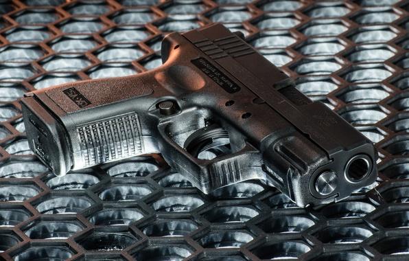 Картинка пистолет, оружие, полуавтоматический, Springfield Armory