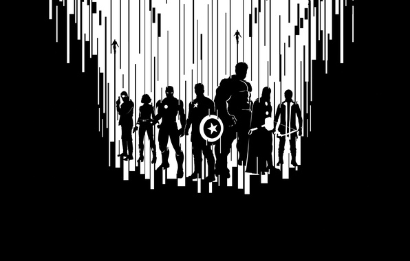 Картинка Scarlett Johansson, Heroes, Superheroes, Hulk, the, Men, Iron Man, Captain America, Super, Team, Thor, Black …