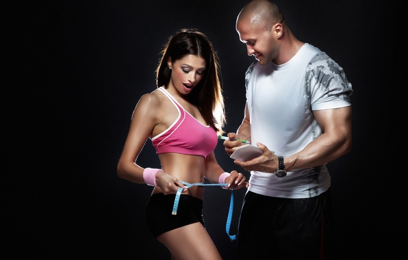 Картинка sport, couple, action, fitness, motivation, state fit