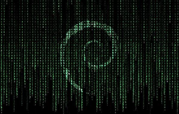 Картинка linux, matrix, debian