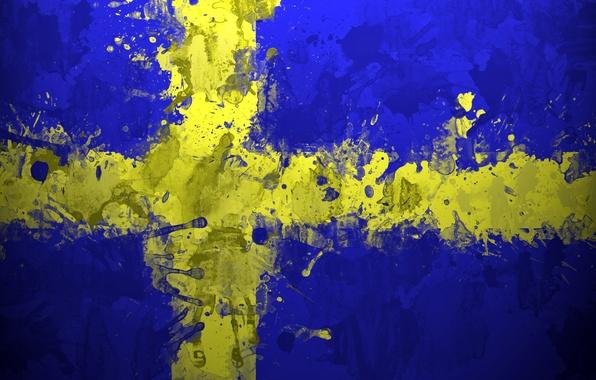 Швеция картинки флаг