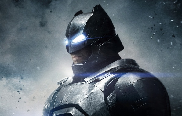 Картинка фантастика, костюм, шлем, Бен Аффлек, комикс, Ben Affleck, Batman v Superman: Dawn of Justice, Бэтмен …