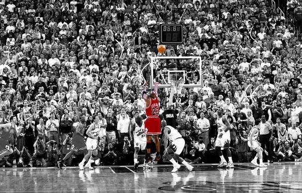 Картинка basketball, nba, 5.2 sec shot, Chicago vs. Utah, jordan, finals, 1998, michael jordan, winning shot, …