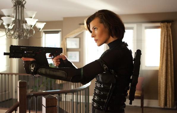 Картинка Обитель зла, Resident Evil, Милла Йовович, Retribution, Возмездие
