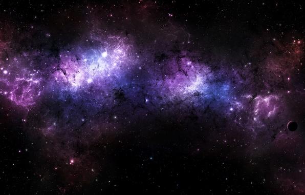 Картинка космос, звезды, вселенная, планета, universe, созвездие, nebula