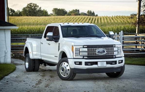 Картинка Ford, форд, пикап, Super Duty, F-450, 2016
