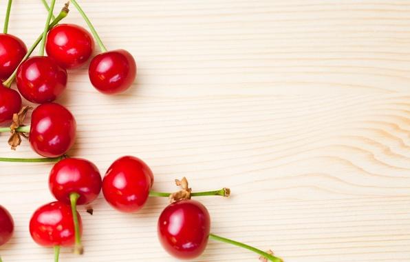 Картинка вишня, ягоды, фон, обои, еда, wallpaper, широкоформатные, background, полноэкранные, HD wallpapers, широкоэкранные