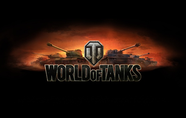 Картинка Закат, Германия, СССР, WoT, World of Tanks, Pz.Kpfw. IV, Мир Танков, Т-34-85, Wargaming Net, Средние …