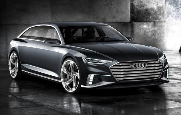 Картинка фото, Audi, Серый, Автомобиль, Avant, 2015, Металлик