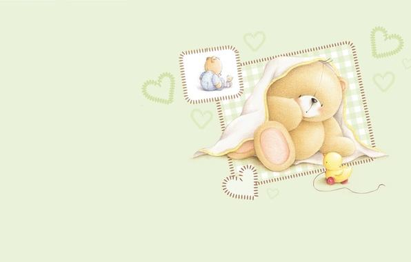 Картинка настроение, игрушка, арт, мишка, малышка, детская, Forever Friends Deckchair bear