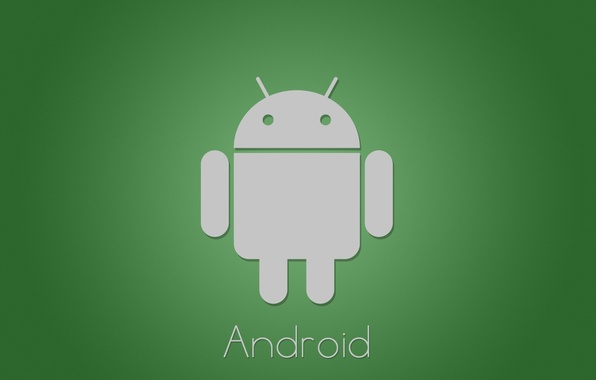 Картинка green, минимализм, android, tech, google