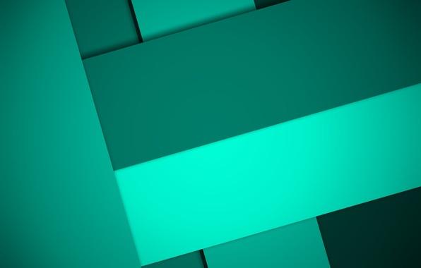 Фото обои линии, зеленый, геометрия, design, color, material