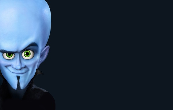 Картинка blue, look, megamind