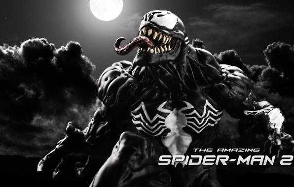 Картинка fan art, Marvel Comics, Venom, The Amazing Spider-Man 2, Eddie Brock, Symbiote