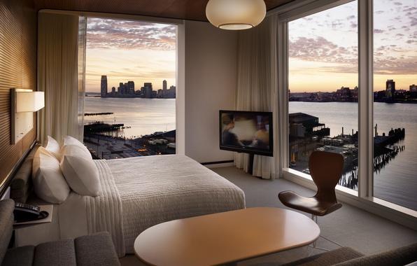 Фото обои дизайн, стиль, интерьер, мегаполис, жилая комната