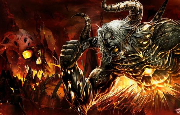 Аниме дьявол картинки