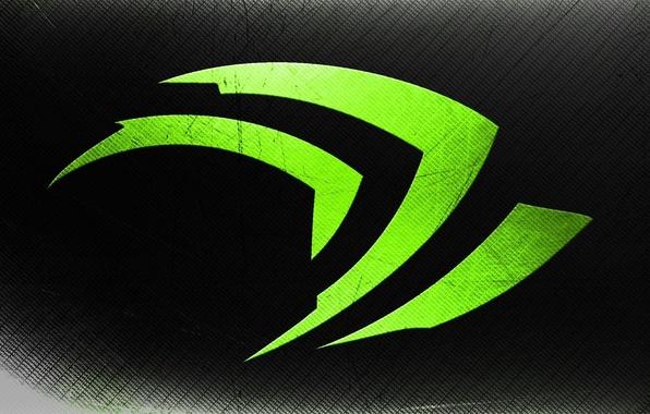 Картинка фон, цвет, лого, зелёный, nvidia, бренд, нвидиа