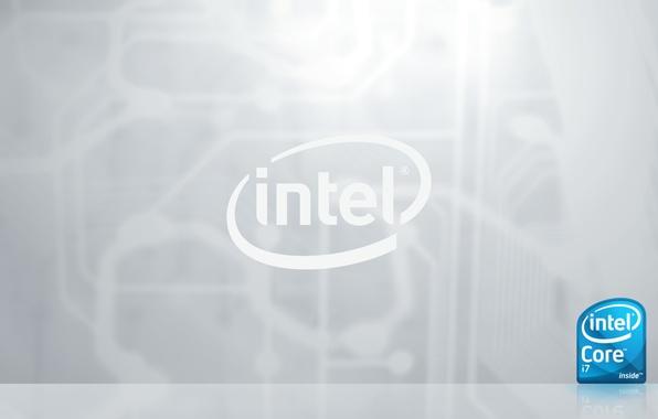 Картинка intel, процессор