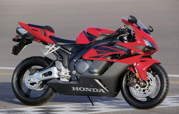Картинка красный, Honda, CBR1000RR, Sport, супербайк