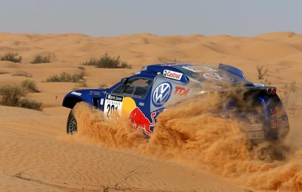 Картинка песок, машина, ралли