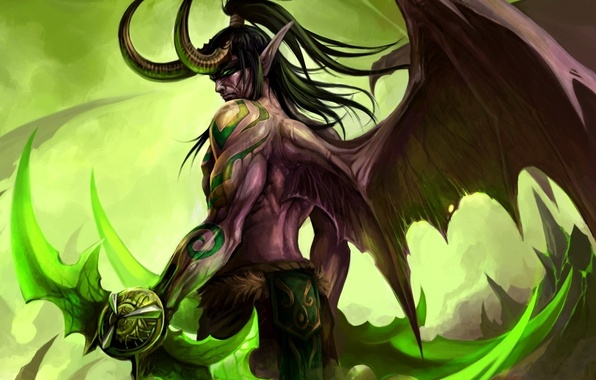 Картинка World of Warcraft, Illidan, WOW, Stormrage