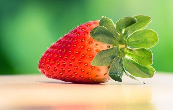 Картинка клубника, ягода, красная, вкусная