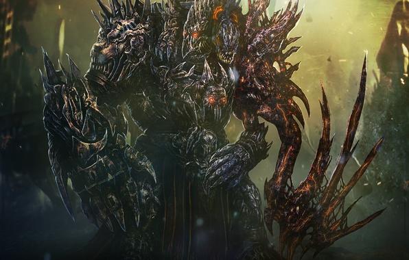 Картинка monster, armor, king