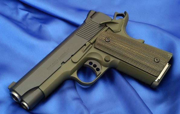 Картинка Пистолет, Обои, Оружие, Gun, Wallpaper, M1911, Colt, Кольт, Weapon, м1911