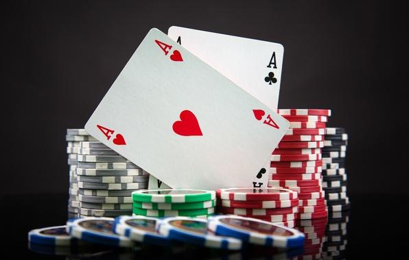 Картинка карты, фишки, туз, масть, казино, игральные