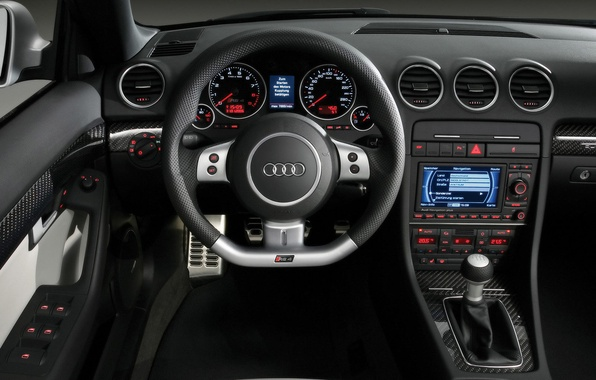 Картинка Audi, бар, салон, RS 4
