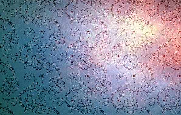 Картинка цветы, фон, обои, узор, текстура, texture