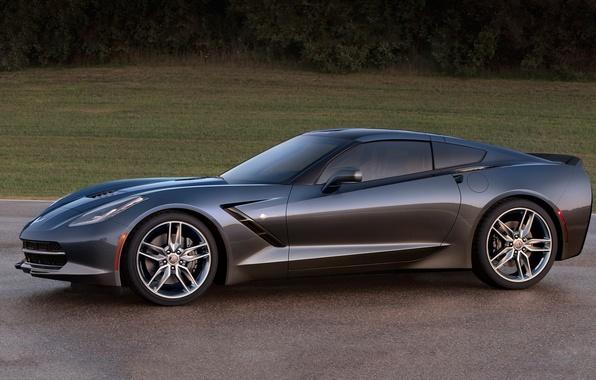 Картинка Corvette, Chevrolet, Stingray, 2014