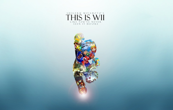 Картинка Марио, Wii, Вии, Приставка, This Is Wii, Mario