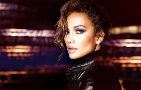 Картинка взгляд, лицо, актриса, куртка, певица, Jennifer Lopez, Дженнифер Лопез, J Lo