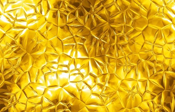 Картинка металл, фон, золото, текстура, metal, golden, texture, background, pattern
