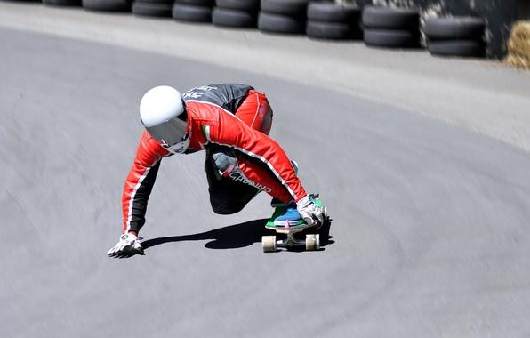 Картинка Rider, SKATEBOARDING, Long Board