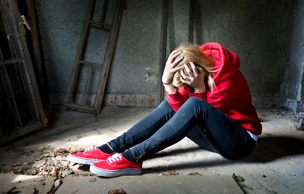 Картинка depression, sadness, women, shoes