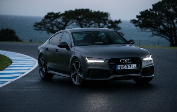 Картинка Audi, ауди, Sportback, AU-spec, RS 7, 2015