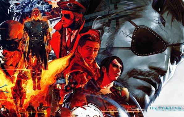 Картинка metal gear solid, Snake, John, Jack, Konami, Kojima Productions, Naked Snake, Shalashaska, Revolver Ocelot, Adamska, …