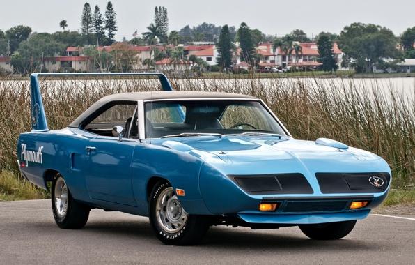 Картинка 1970, Plymouth, передок, Muscle car, Superbird, Мускул кар, Плимут, Road Runner, Роад Раннер, Супербёд