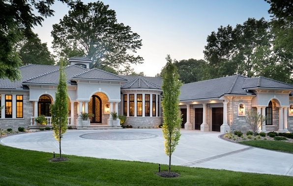 Картинка дизайн, дом, вилла, особняк, архитекектура