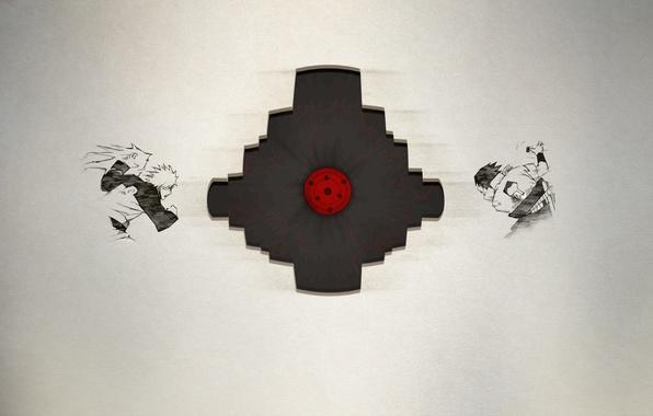 Картинка colors, logo, Naruto, characters