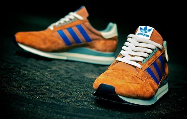 Картинка синий, Адидас, кроссовки, Adidas ZX500