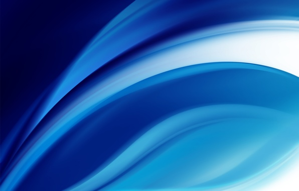 Фото обои бирюзовый, белый, синий, голубой, Волны